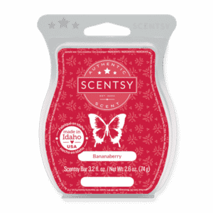 BANANABERRY SCENTSY BAR 1