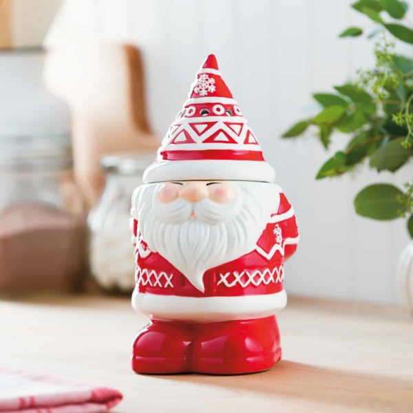BE JOLLY SCENTSY SANTA WARMER