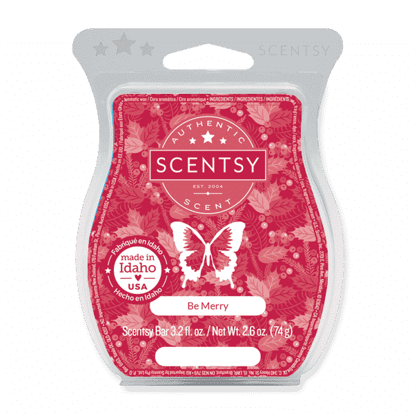 BE MERRY SCENTSY BAR 1