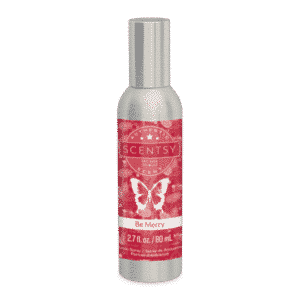 BE MERRY SCENTSY ROOM SPRAY