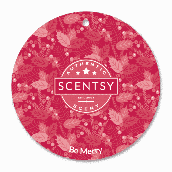 Be Merry Scentsy Scent Circle