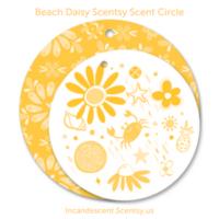 BEACH DAISY SCENTSY SCENT CIRCLE