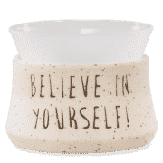BELIEVE IN YOURSELF SCENTSY WARMER | DISCONTINUED