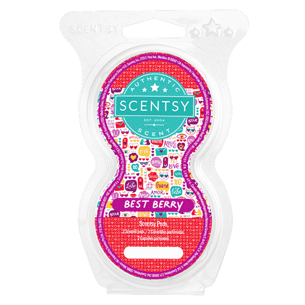 BEST BERRY SCENTSY GO POD