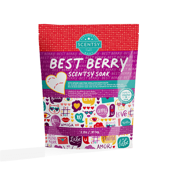 BEST BERRY SCENTSY SOAK 2021