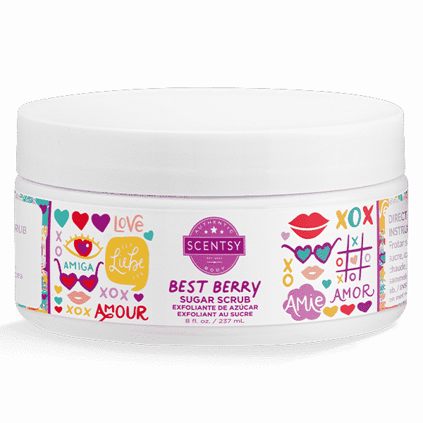 BEST BERRY SUGAR SCRUB 2021