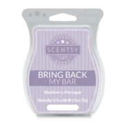 BLACKBERRY MERINGUE BRING BACK MY SCENTSY BAR JULY 2018