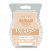 BLOND WOOD & MOONFLOWER SCENTSY BAR