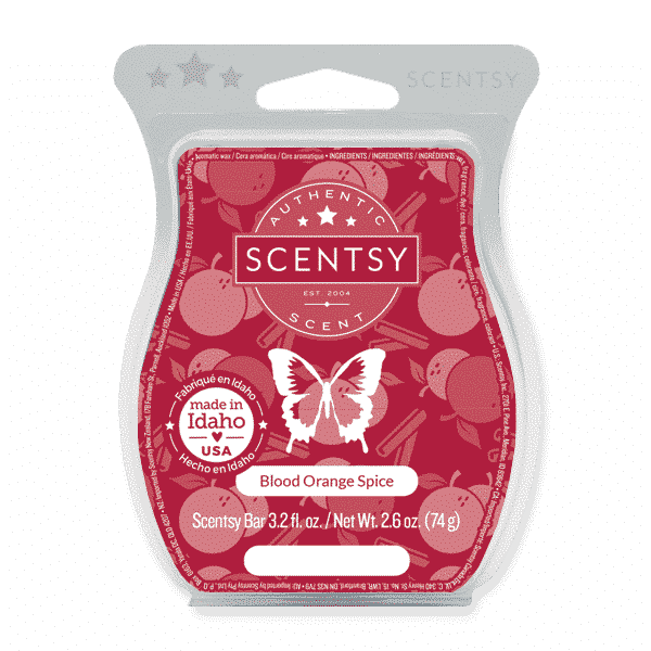 BLOOD ORANGE SPICE SCENTSY BAR