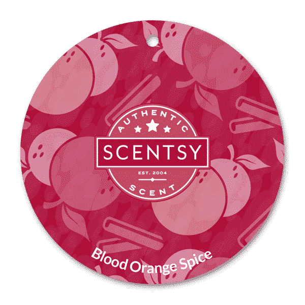 BLOOD ORANGE SPICE SCENTSY SCENT CIRCLE 1