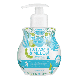 BLUE AGAVE MELON SCENTSY HAND SOAP
