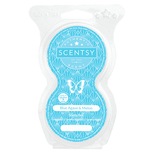BLUE AGAVE MELON SCENTSY PODS