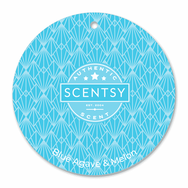 BLUE AGAVE MELON SCENTSY SCENT CIRCLE | BLUE AGAVE & MELON SCENTSY SCENT CIRCLE | Summer 2021