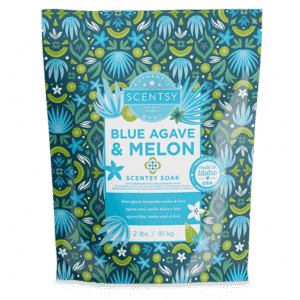 BLUE AGAVE MELON SCENTSY SOAK