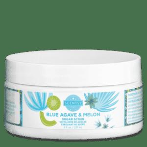 BLUE AGAVE MELON SCENTSY SUGAR SCRUB