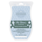 BLUE CHRISTMAS SCENTSY BRICK