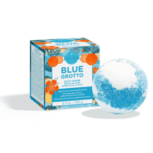 BLUE GROTTO SCENTSY BATH BOMB