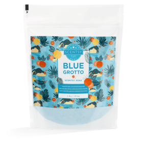 BLUE GROTTO SCENTSY BATH SOAK