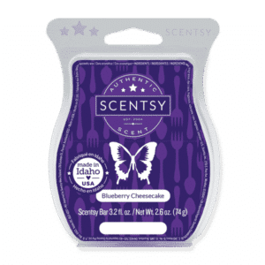 BLUEBERRY CHEESECAKE SCENTSY BAR
