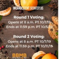 BRING BACK MY BAR SCENTSY OCTOBER 2019 VOTING