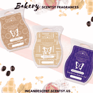Bakery Scentsy Fragrances | SCENTSY COMPLETE SCENT LIST FOR SPRING SUMMER 2019 | SCENTSY LIST OF FRAGRANCES | Scentsy® Online Store | Scentsy Warmers & Scents | Incandescent.Scentsy.us