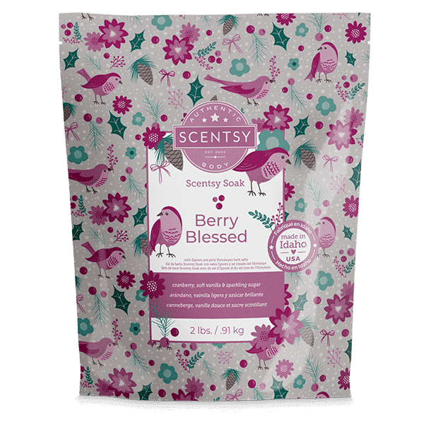 Berry Blessed Scentsy Soak | Berry Blessed Scentsy Soak