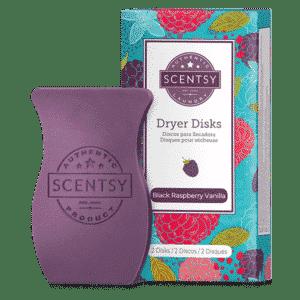 Black Raspberry Vanilla Scentsy Dryer Disks