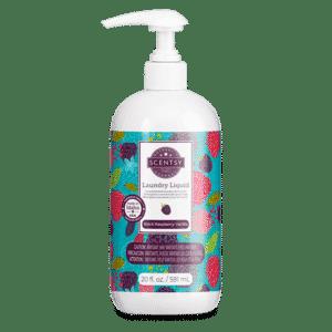 Black Raspberry Vanilla Scentsy Laundry Liquid 03