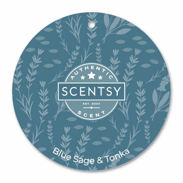 Blue Sage and Tonka Scentsy Scent Circle | NEW! Blue Sage & Tonka Scentsy Scent Circle | Incandescent.Scentsy.us