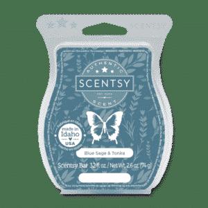 Blue Sage and Tonka Scentsy bar