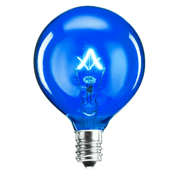 Blue Scentsy Bulb | 20 Watt Blue Scentsy Light Bulb