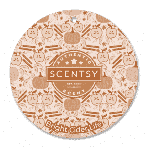 Bright Cider Life Scentsy Scent Circle