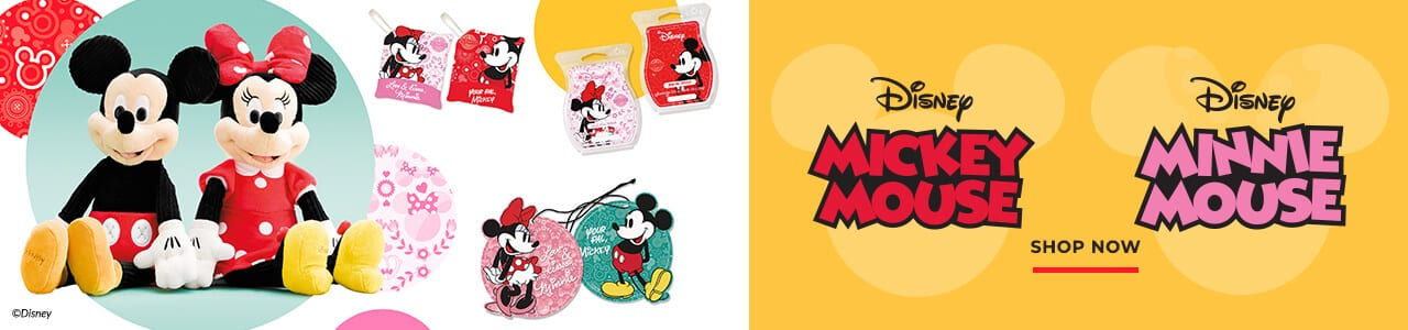 SCENTSY MICKEY MOUSE AND SCENTSY MINNIE MOUSE DISNEY SCENTS