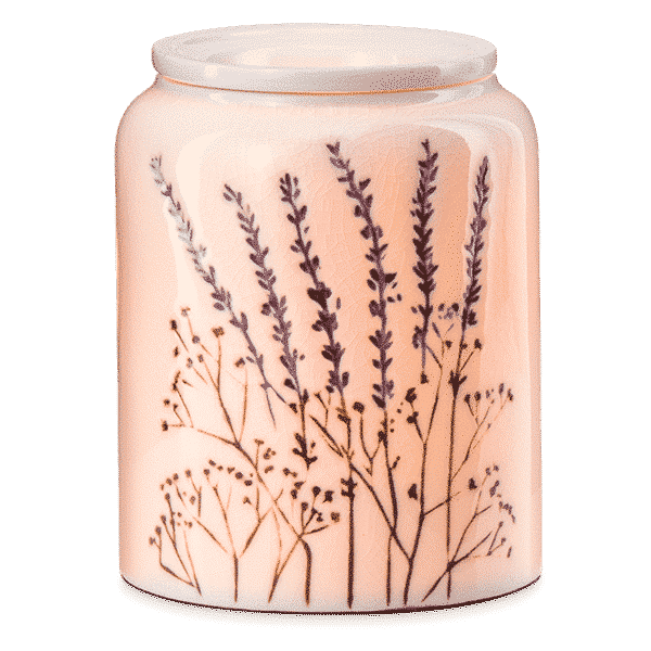 HAPPY HERBITAT SCENTSY WARMER LAVENDER