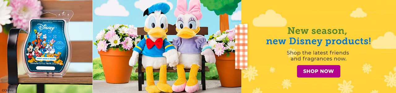 SCENTSY DONALD AND DAISY DUCK COLLECTION DISNEY