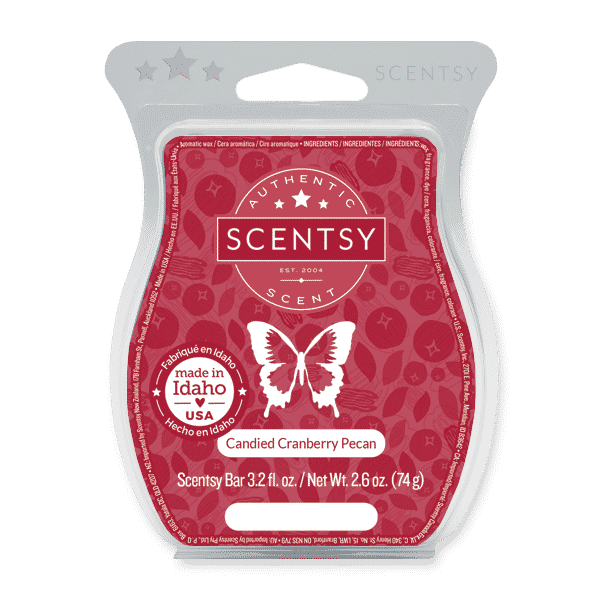CANDIED CRANBERRY PECAN SCENTSY BAR