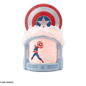 CAPTAIN AMERICA SCENTSY WARMER MARVEL