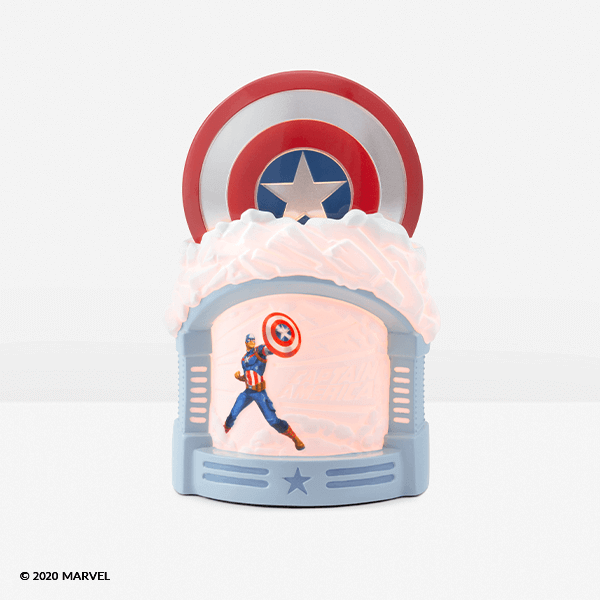 CAPTAIN AMERICA – SCENTSY WARMER  | MARVEL UNIVERSE