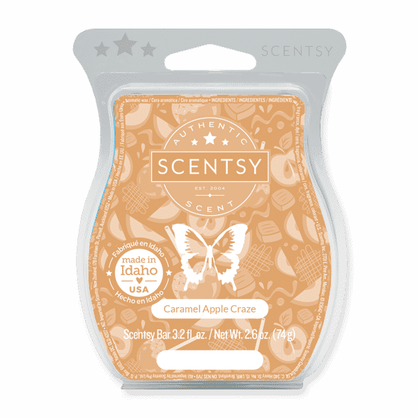 CARAMEL APPLE CRAZE SCENTSY BAR 1