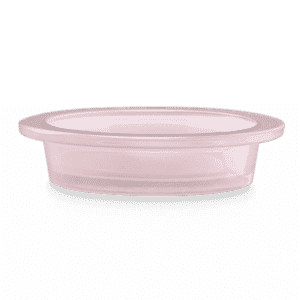 CAST PINK SCENTSY WARMER DISH ONLY