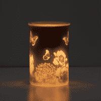 CAST PINK SCENTSY WARMER GLOW