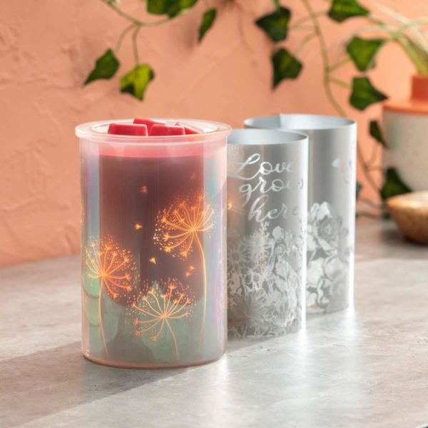 CAST PINK SCENTSY WARMER WITH INSERT | Cast - Pink Scentsy Warmer with Spring Pack | February 2021