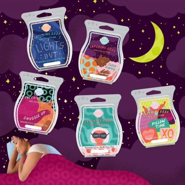 CATCHING ZZZS SLEEP WAX COLLECTION SCENTSY
