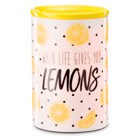 WHEN LIFE GIVES YOU LEMONS SCENTSY WARMER