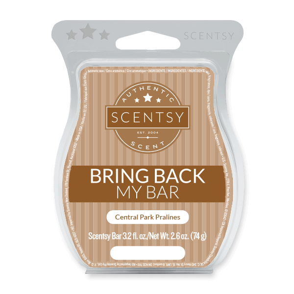 CENTRAL PARK PRALINES SCENTSY BAR | BRING BACK MY BAR