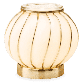 CHIC SCENTSY WARMER LIGHTS GLOW