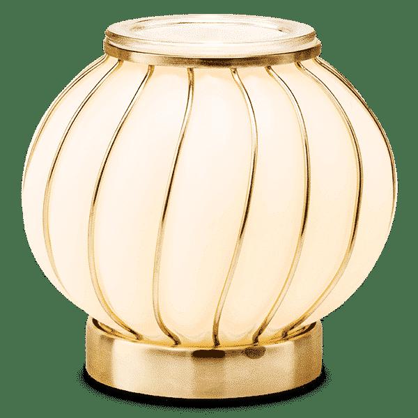 CHIC SCENTSY WARMER LIGHTS GLOW | Chic Scentsy Warmer