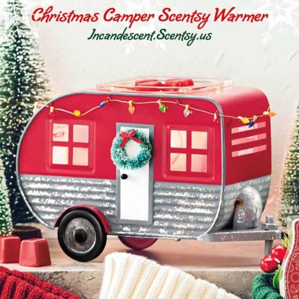 CHRISTMAS CAMPER SCENTSY WARMER | Christmas Camper RV Scentsy Warmer