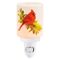 CHRISTMAS CARDINAL SCENTSY MINI WARMER