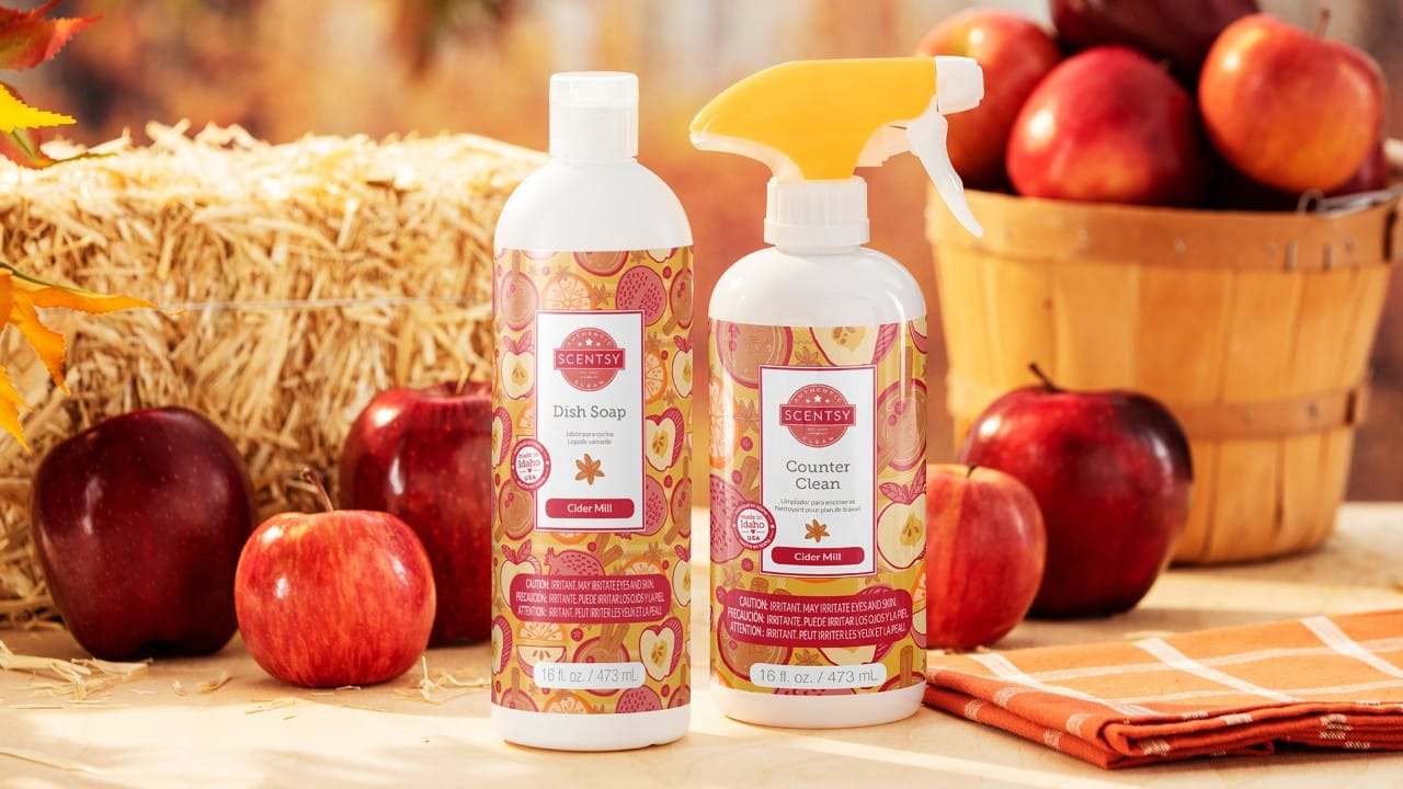 CIDER MILL SCENTSY CLEAN BUNDLE